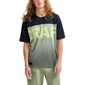 Craft Core Offroad XT SS Jersey Men, czarny/zielony